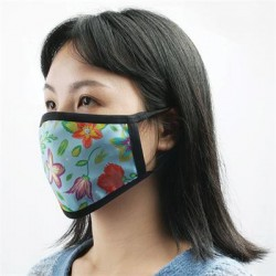 Full Colour 2 Layer Cotton reusable Face Mask