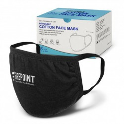 3 layered Reusable Cotton Face Mask